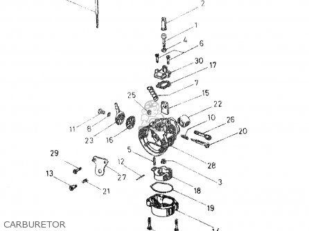 Suzuki Dr50 Big 1986 g Carburetor