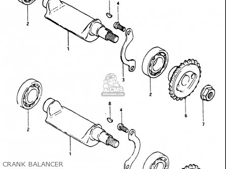 Suzuki Dr Usa Crank Balancer Mediumsuusa D on 1983 Honda Xr 200 Engine Diagram