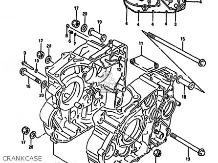 Suzuki Dr650r 1994 R E04 E21 E22 E53 Parts Lists And Schematics