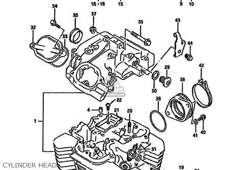 Suzuki Dr650rseu 1991 M Germany E22 Parts Lists And Schematics