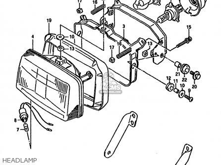 1978 Honda Gl1000 Parts Diagram