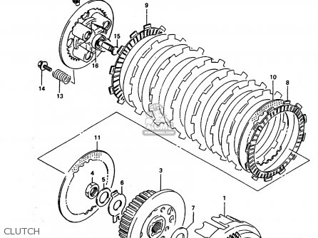 daihatsu rocky clutch diagram