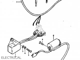 Suzuki Ds250 1980 t Usa e03 Electrical