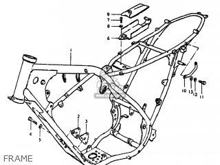 Suzuki Ds250 1980 t Usa e03 Frame