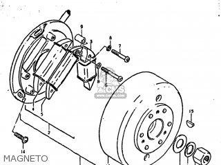 Suzuki Ds250 1980 t Usa e03 Magneto