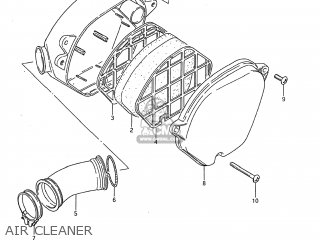 Suzuki DS80 1985 (F) USA (E03) parts lists and schematics on