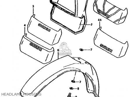 Wiring Diagram For 1980 Suzuki 550