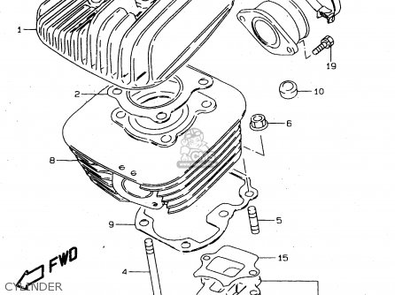 Twin Cylinder Two Stroke Diagram