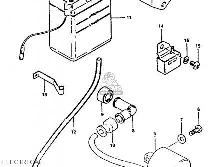 Partslist additionally Suzuki Atv Replacement Parts further 1964 Honda 50 Scooter Wiring Diagrams furthermore Ford L8000 Wiring Diagram besides Wiring Diagram Honda Xl600r. on 1980 suzuki fa50 wiring diagram