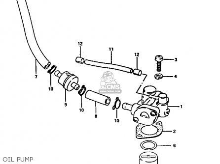suzuki fa50 1982  z  parts list partsmanual partsfiche