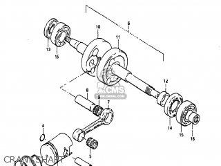 Suzuki    FA50    1982  Z  USA  E03  parts lists and schematics