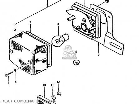 Suzuki    FA50    1983  D  parts lists and schematics