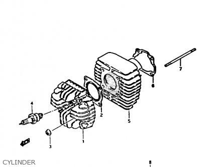 Suzuki Fa50 1985 f Cylinder