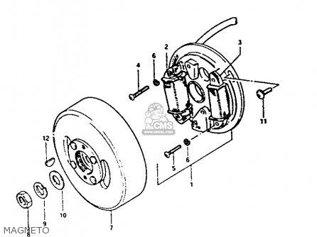 Suzuki Fa50 Carburetor Diagram
