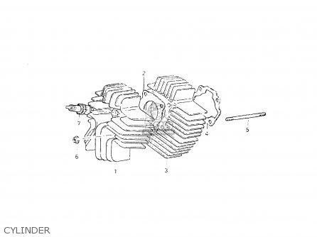 Suzuki Fr50 1981 x Cylinder