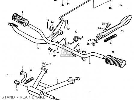 suzuki fr80 1981 x e02 e08 e12 e14 e95 stand rear brake_mediumsue0168fig 29_3b3d 14 awg silicone wire 8 on 14 awg silicone wire