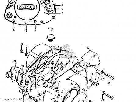 Suzuki Fr80 1983 d Crankcase Cover