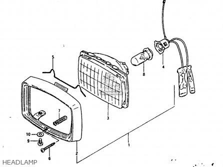 Suzuki Fr80 1983 d Headlamp