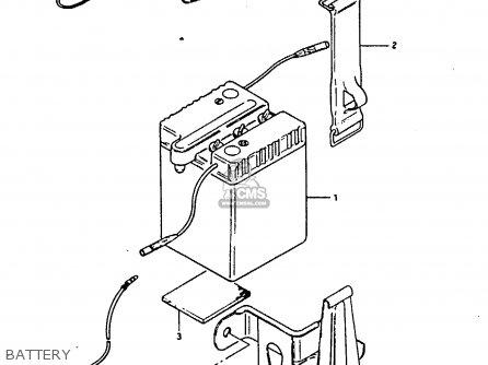 Suzuki Fr80 1983 d United Kingdom e02 Battery