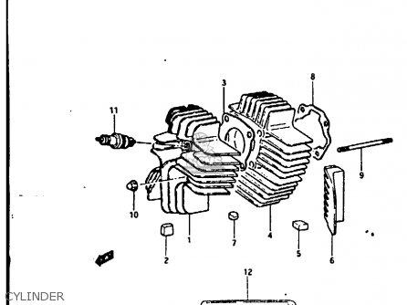 Suzuki Fr80 1983 d United Kingdom e02 Cylinder