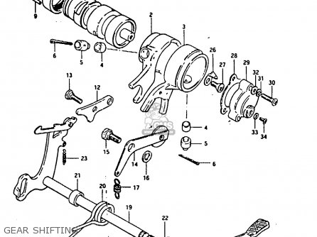 Suzuki Fr80 1983 d United Kingdom e02 Gear Shifting