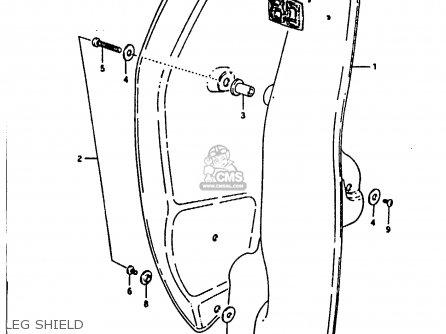 Suzuki Fr80 1983 d United Kingdom e02 Leg Shield