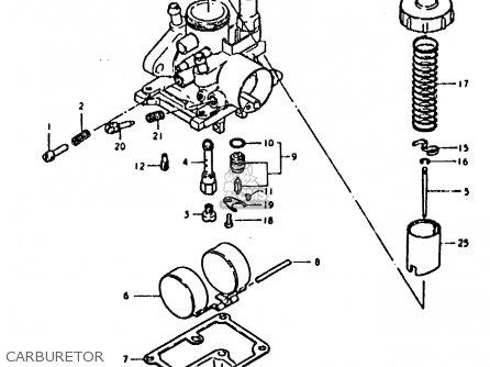 Suzuki Fz50 1979 n Carburetor