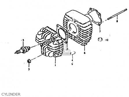 Suzuki Fz50 1979 n Cylinder