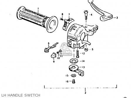Suzuki Fz50 1979 n Lh Handle Switch