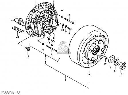 Suzuki Fz50 1979 n Magneto
