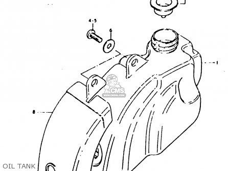 Suzuki Fz50 1979 n Oil Tank