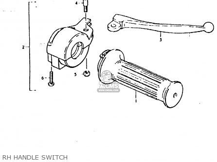 Suzuki Fz50 1979 n Rh Handle Switch