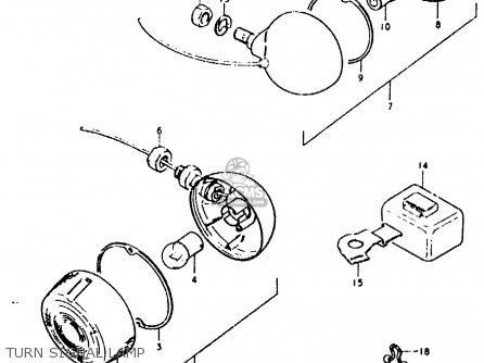 Suzuki Fz50 1979 n Turn Signal Lamp