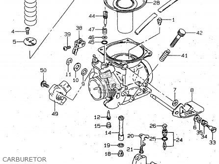 Suzuki Gn125 1997  v  parts list partsmanual partsfiche