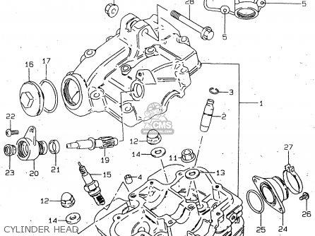 Suzuki GN125 1998  W   E02 E04 E18 E21 E22  parts lists