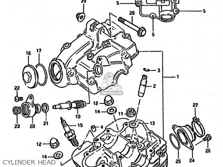 Suzuki Gn125e 1983 D Singapore E30 Parts Lists And Schematics