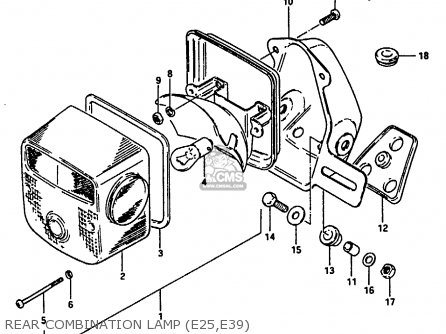 Wiring Diagram 1984 Suzuki Gn250 on 1983 honda 250 custom