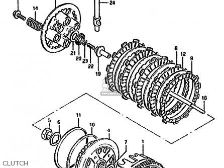 suzuki gn250e 1991  m  general  e01  parts lists and