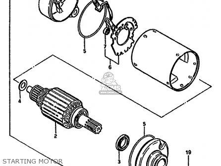 Suzuki Gn E M General E Starting Motor Mediumsue Fig Ac on Suzuki Gn 250 Wiring Diagram