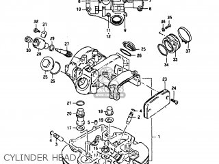 Suzuki Gn400 Engine Diagram