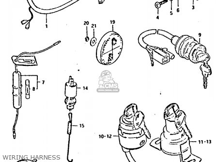 1987 Ford Bronco Wiring Harness on Suzuki Samurai Clutch Diagram