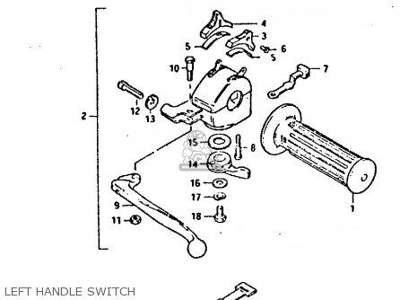 suzuki gp100 wiring diagram suzuki gp125u 1981 (x) sweden greece (e17 e41) parts list ... 1989 suzuki samurai wiring diagram