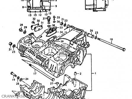 Suzuki Gs C General Export E Crankcase Mediumsue Fig Cddf on 1978 Suzuki Gs1000 Wiring Diagram