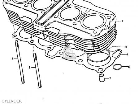 Suzuki Gs C General Export E Cylinder Mediumsue Fig E on 1978 Suzuki Gs1000 Wiring Diagram