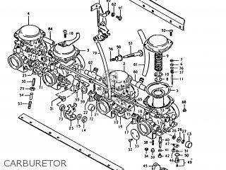 suzuki gs1000 1980  t   e01 e02 e22 e24  parts lists and