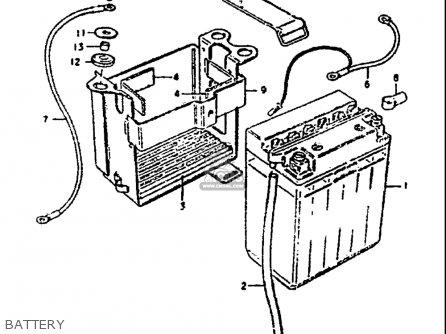 Suzuki Gs1000 G 1980-1981 (usa) parts list partsmanual ...