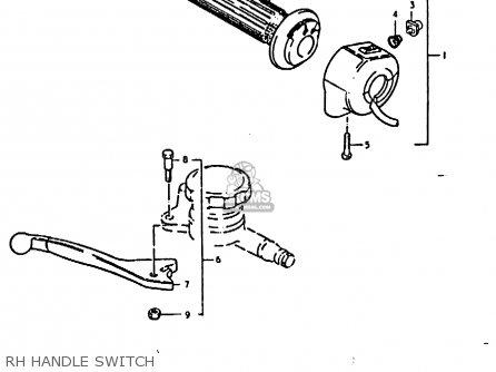 Yamaha Motorcycle Starter Switch Wiring