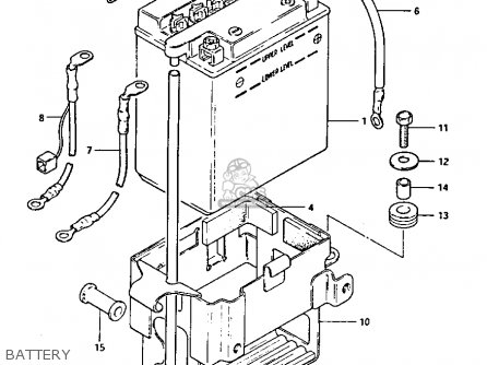 suzuki gs 1100 carburetor diagram