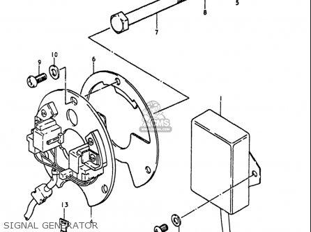Suzuki Gs1100 Lt 1980 usa Signal Generator