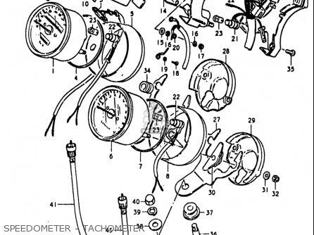 Suzuki Gs1100 Lt 1980 usa Speedometer - Tachometer